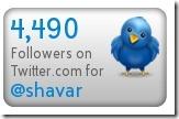 Twitter Followers Stats