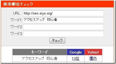 アクセスアップ 初心者での検索結果