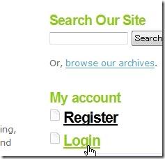 SEO for Firefoxのログイン場所