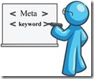 メタキーワード(meta keywords)にSEO効果はありません。