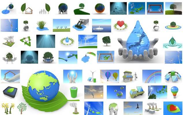 環境・自然・地球イラスト素材